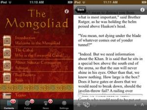 """""""The Mongoliad"""", una novel·la-applicació de Neal Stephenson"""