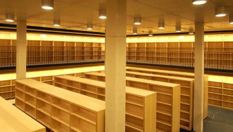 La biblioteca presidencial George W. Bush.