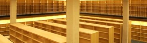 Biblioteca buida.