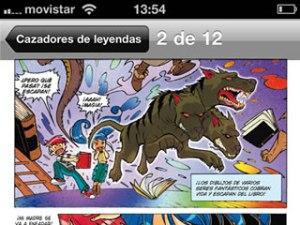 App de Koomic per a dispositius mòbils