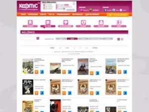 Imatge de Koomic, la botiga on-line de còmics digitals
