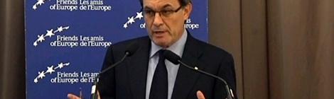 El president Artur Mas