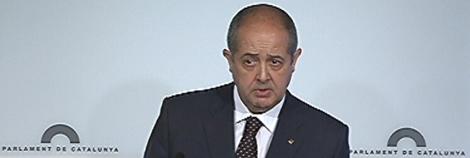 Felip Puig, conseller d'Interior en funcions.