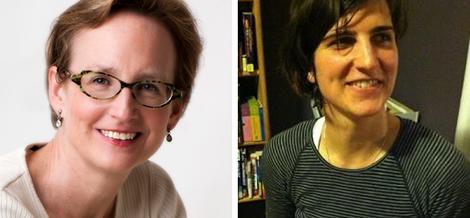 Maria Balinska i Lindsey Bagner, en dues imatges d'arxiu.