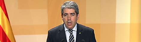 Francesc Homs, conseller de presidència.
