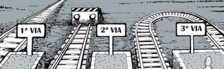 Vinyeta de Ferreres sobre la tercera via. (Font: El Periódico)