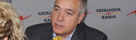 """Pere Navarro a """"El matí de Catalunya Ràdio""""."""