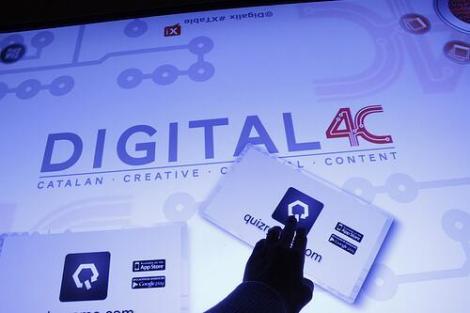 La conferència s'ha fet en el marc del Digital4C, una mena d'off Mobile World Congress. (Foto: Digital4C)