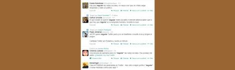 Alguns dels tuits referents a la voluntat d'Interior de regular les xarxes socials.