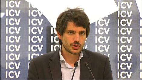 Urtasun valora els resultats de les europees l'endemà del 25-M a la seu d'ICV