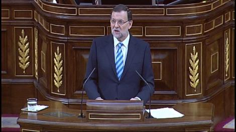 Mariano Rajoy defensa la llei d'abdicació al Congrés.