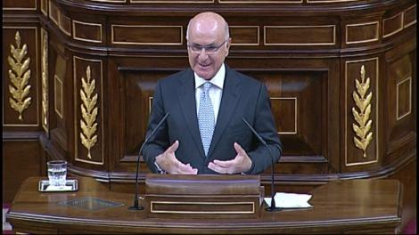 El líder de CiU al Congrés, Josep Antoni Duran i Lleida.
