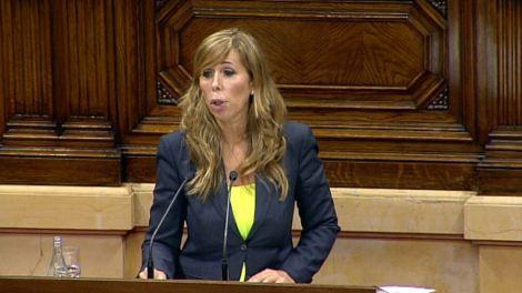 La líder del PPC, Alicia Sánchez Camacho, en la segona jornada del debat de política general.