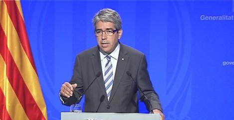 Francesc Homs, conseller de la Presidència.
